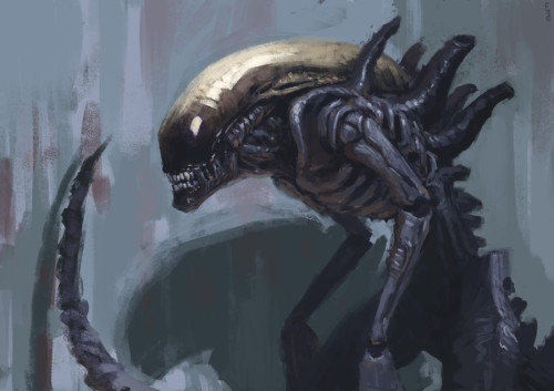 xenomorph_by_edwarddelandreart-d7i81yg