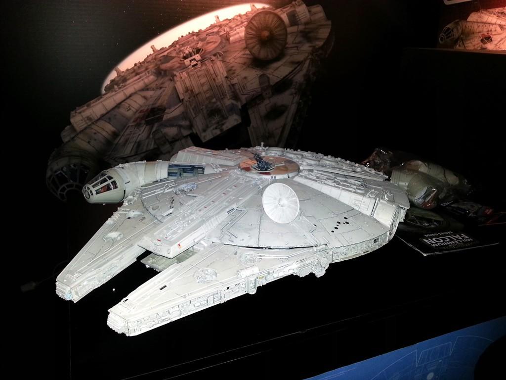 Il Millennium Falcon, prossimamente in edicola da DeAgostini
