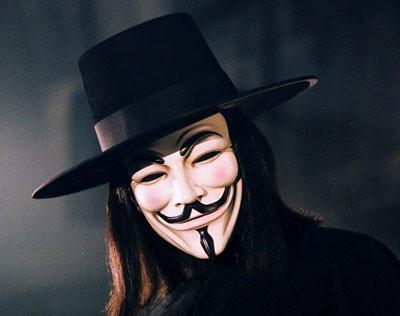 Guy Fawkes mask: diventata simbolo della protesta in senso generale