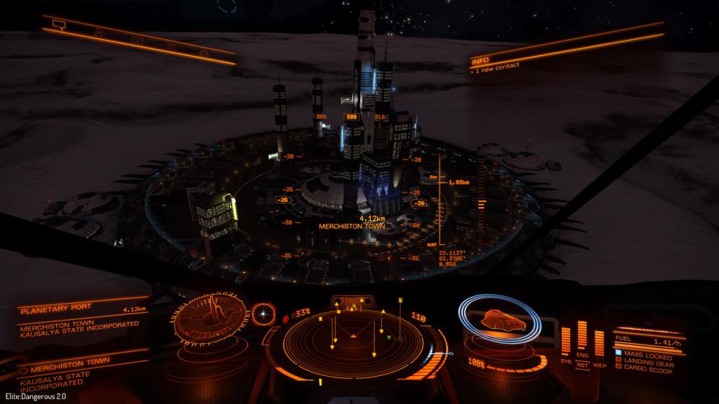 ecco un porto planetario...