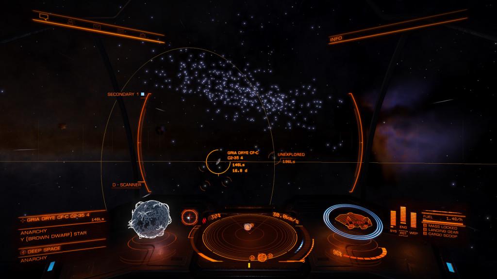 in avvicinamento alla Eagle nebula
