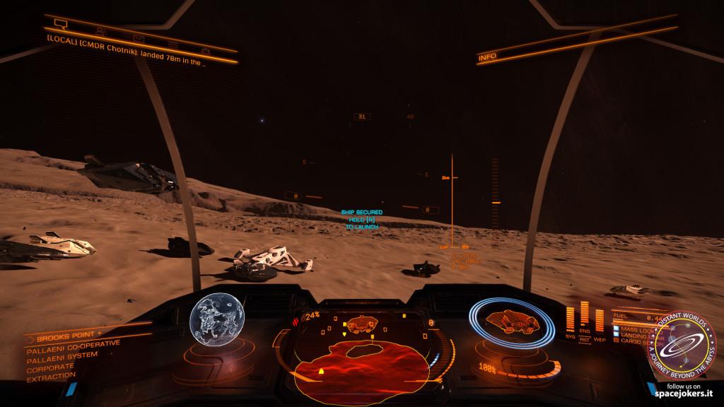 già alcuni esploratori sono pronti alla partenza... i motori caldi e le gomme...ah no... quelle sono preistoria!