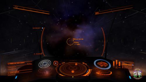 in avvicinamento alla nebulosa NGC 6357
