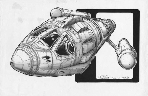 la prima navicella a propulsione a curvatura secondo l'universo di Star Trek: costruita sulal base di un missile nucleare creato per la guerra e che invece porterà a un era di pace... (Fonte: Star Trek: Primo Contatto)