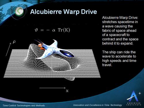 Alcubierre-Warp-Drive