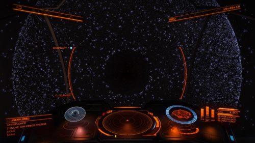 qui mi sono quasi schiantato in un buco nero.. Nel Ritorno da Sag A, se volate alti sull'asse delle Z ne troverete a palate!